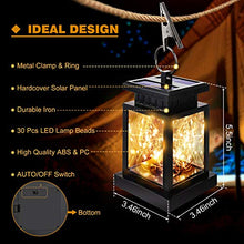 Load image into Gallery viewer, SUPERDANNY Outdoor Solar Lanterns Hanging Light