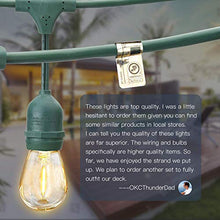 Load image into Gallery viewer, SUPERDANNY LED Outdoor String Lights for Patio
