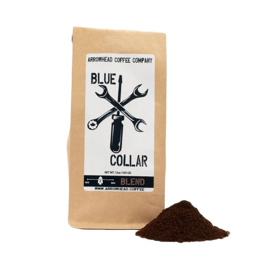 South American Medium Blend Coffee - Blue Collar | 12oz