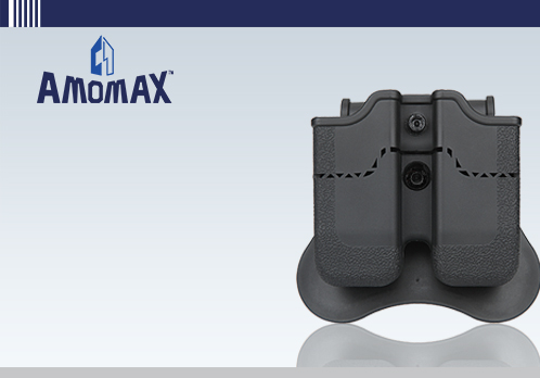 Amomax Tactical Double Magazine Holster for Beretta / PX4 / H&K / USP