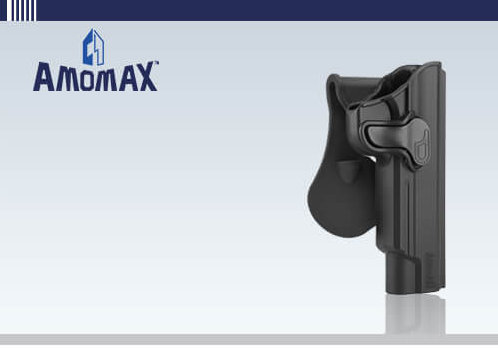 Amomax 1911 Tactical Holster 5''
