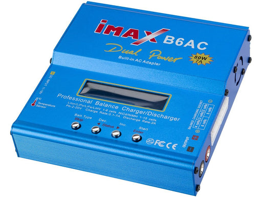 IMAX B6AC+ V1 LiPo / Li-Ion / NiMH Battery Smart Charger