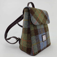 Load image into Gallery viewer, Tummel Harris Tweed Mini Backpack Col 15