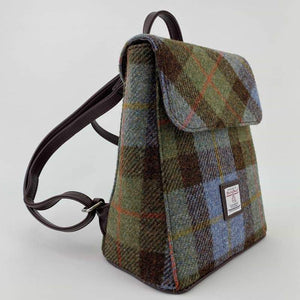 Tummel Harris Tweed Mini Backpack Col 15