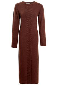 NATIVE YOUTH Adley Knitted Midi Dress