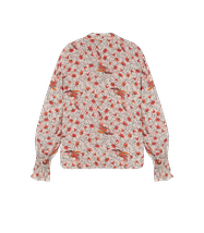 Afbeelding in Gallery-weergave laden, Alix the label Ladies woven floral blouse