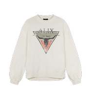 Afbeelding in Gallery-weergave laden, Alix the label Ladies woven knitted triangle sweater