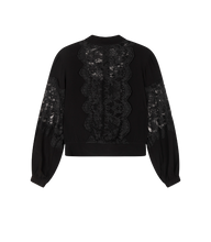 Afbeelding in Gallery-weergave laden, Alix the label Ladies woven lace crepe blouse