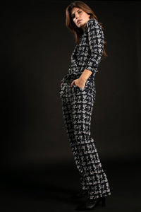 STUDIO ANNELOES Angelou knit look jumpsuit