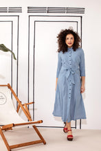 Afbeelding in Gallery-weergave laden, STUDIO ANNELOES Cindy denimlook dress