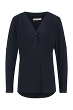 Afbeelding in Gallery-weergave laden, Evi Blouse 6900 Dark Blue