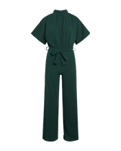 Afbeelding in Gallery-weergave laden, Girl Jumpsuit 301  Dark green