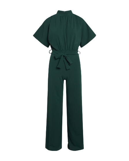 Girl Jumpsuit 301  Dark green