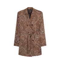 Afbeelding in Gallery-weergave laden, Ladies woven graphic animal blazer