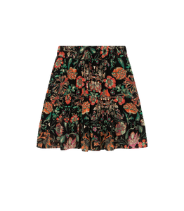 ALIX THE LABEL Ladies woven multi colour chiffon skirt
