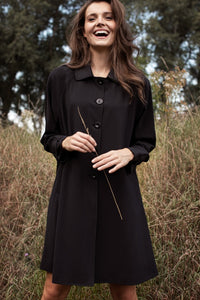 Mirthe Bonded trench coat