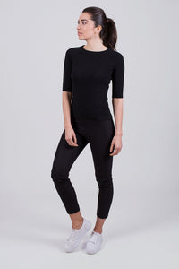 Moscow top viscose  Black