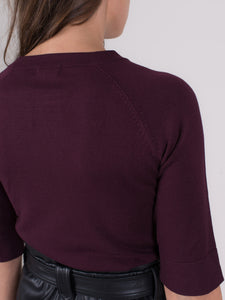 Moscow top viscose  Bordeaux