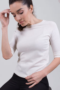 Moscow top viscose  Off white