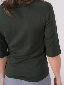 Moscow top viscose  Olive