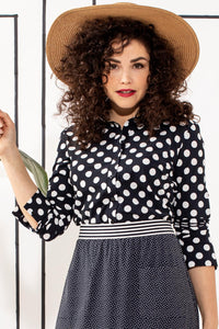 Studio Anneloes Poppy dot blouse