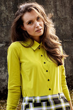 Afbeelding in Gallery-weergave laden, Poppy shirt lime