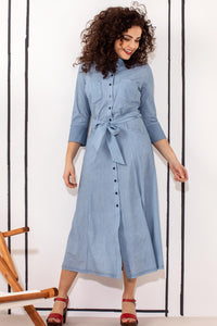 Studio Anneloes Cindy denimlook dress