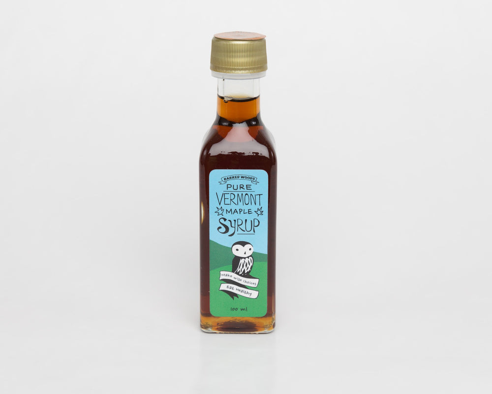 Maple Syrup - 100 ml bottle - Barred Woods Maple