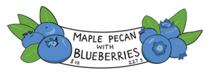 Load image into Gallery viewer, Maple Crunch Granola - Maple Pecan with Blueberries - Barred Woods Maple