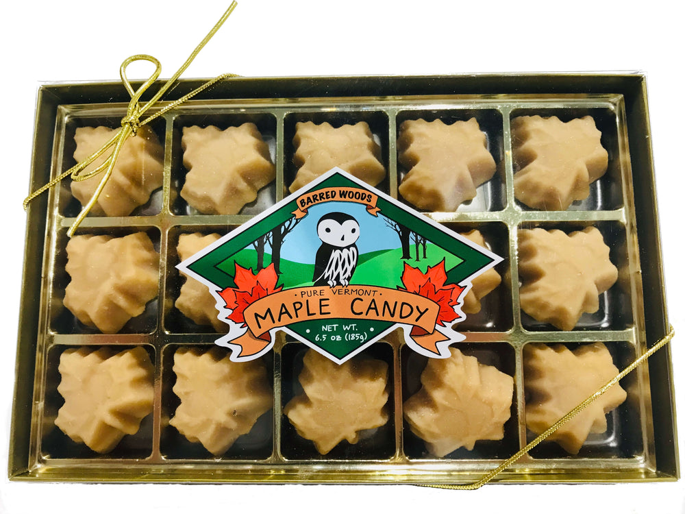Maple Candy.  Made in Vermont.  Pure and All Natural.