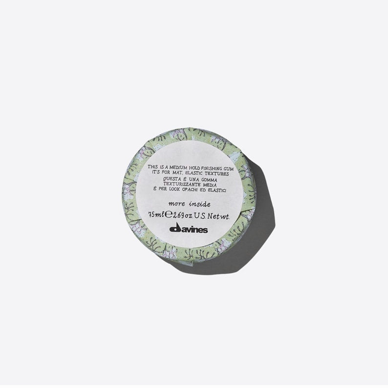 Davines - This is a medium hold finishing gum