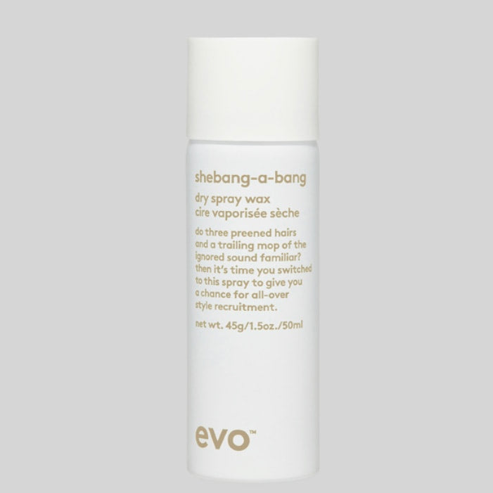 evo - shebang-a-bang - dry spray wax