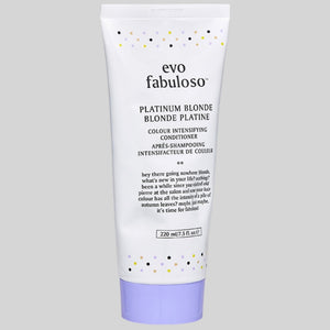 evo fabuloso - platinum blonde colour boosting treatment