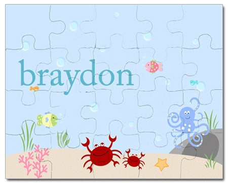 Under the Sea Personalized Puzzles