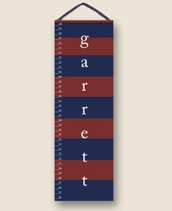 Rugby Navy Personalized Growth Charts