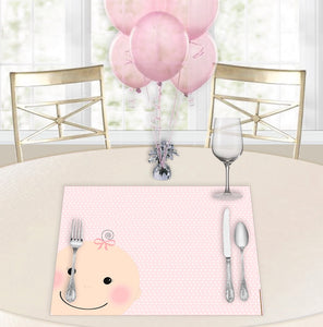 Oh Baby Girl Baby Shower Placemats