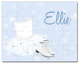 Ice Princess Personalized Puzzles