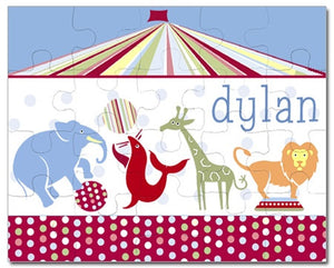 Big Top Baby Personalized Puzzles