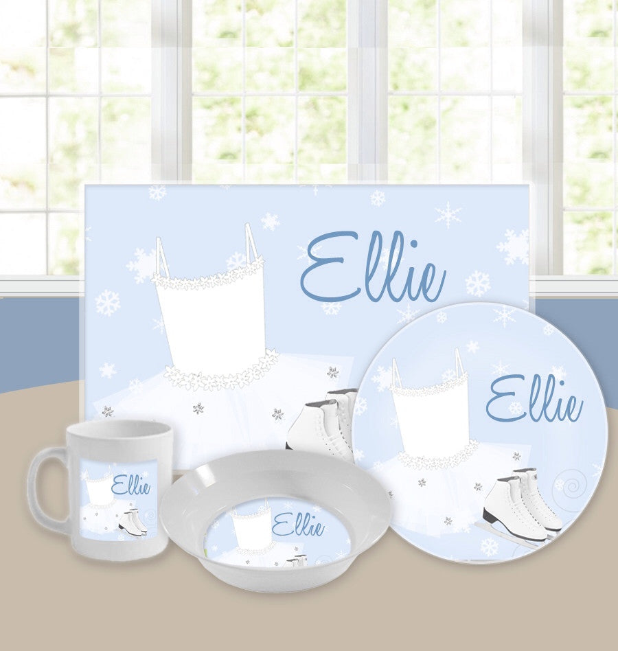 Personalized Kids Tableware Set - Ice Princess