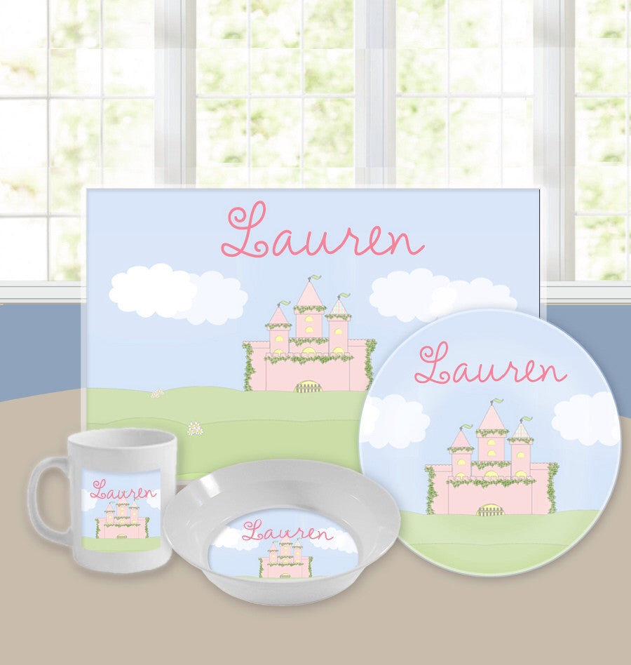Personalized Kids Tableware Set - Far Far Away