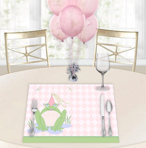 Freida Ribbitt Baby Shower Placemats