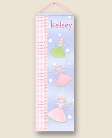 Fairy Princess Personalized Growth Charts