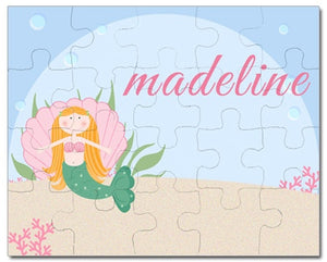 Personalized Kids Puzzles | Miss Mermaid