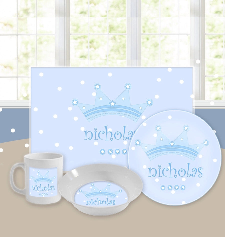 Personalized Kids Tableware Set - Little Prince