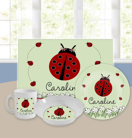 Personalized Kids Tableware Set - Little Lady