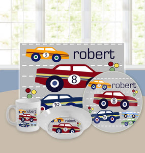 Personalized Kids Tableware Set - On Your Mark