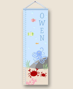 Under the Sea Personalized Growth Charts