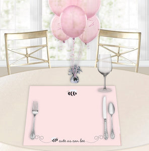 Cute as can Bee Baby Shower Placemats