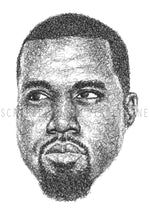 Load image into Gallery viewer, Scribbled Kanye