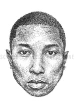 Lade das Bild in den Galerie-Viewer, Scribbled Pharrell Williams